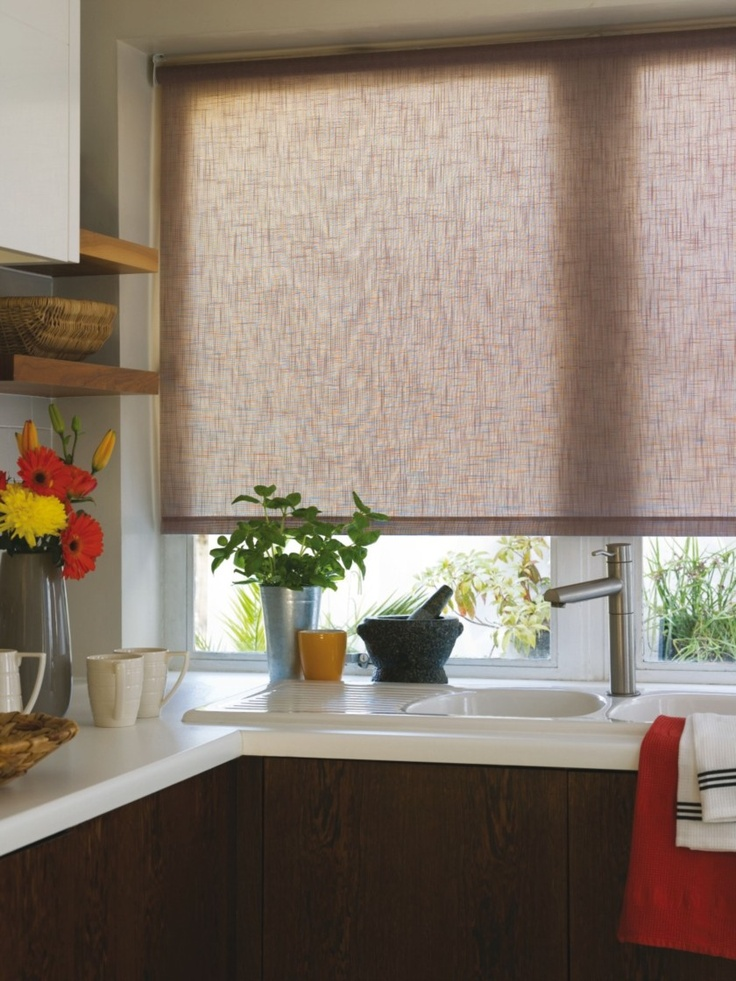 Contemporary Roller Blind With A Rustic Feel - Haze Design