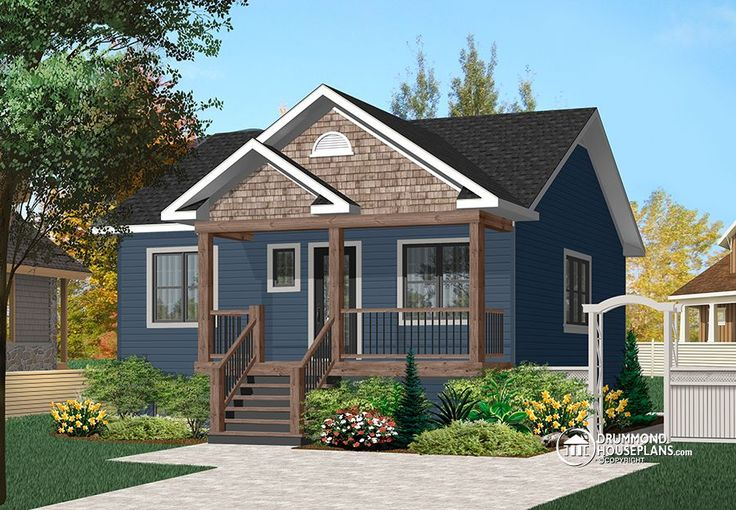House plan w3115 detail from for Playhouse with garage plans
