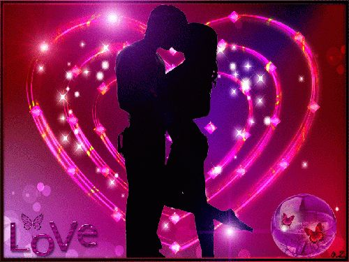 Pareja besándose corazón - ∞ Solo Imagenes, Frases, Fotos y Carteles de Amor ∞