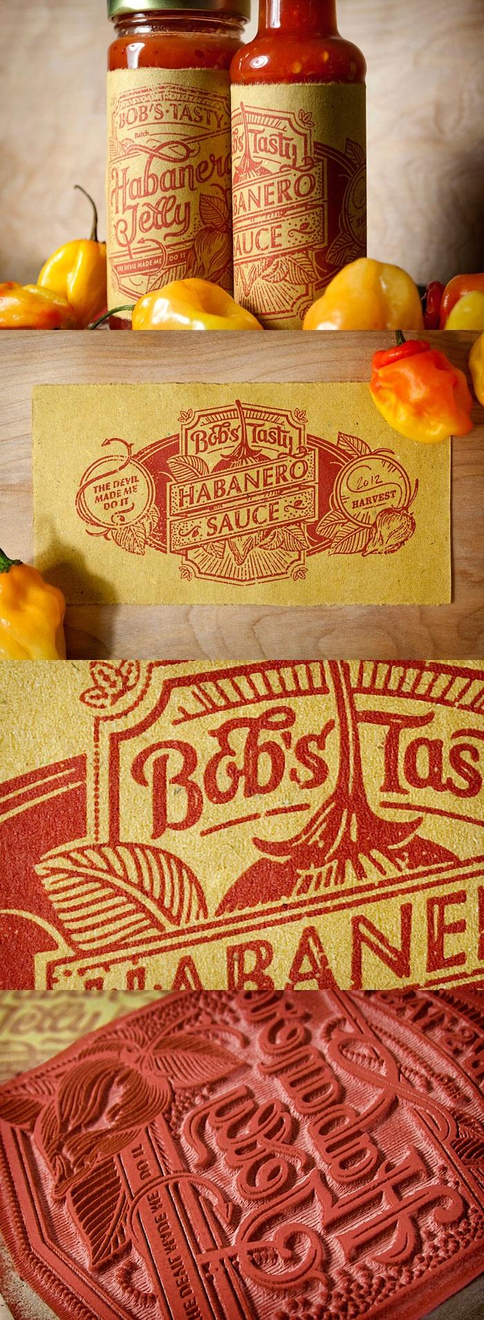 Bob's Tasty Habanero Sauce via http://www.notcot.org/post/50415/