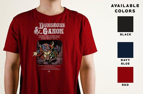 Dungeons Ganon T Shirt Zelda Inspired Legend Of Zelda Tee Dungeons And Dragons Dnd Shirt Mashup Shirt Dnd Shirts Video Game T Shirts Gaming Shirt
