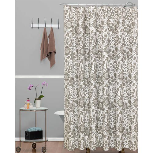 Colormate Shower Curtain Simple Floral Sears Shower Curtain