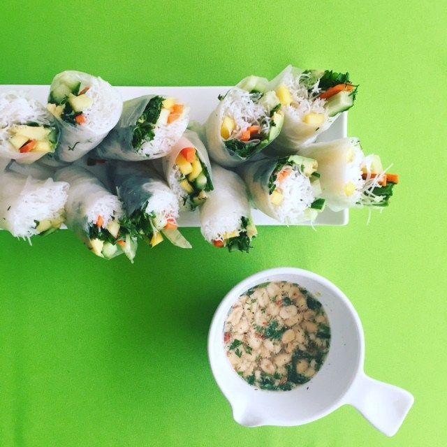 fresh spring rolls 2