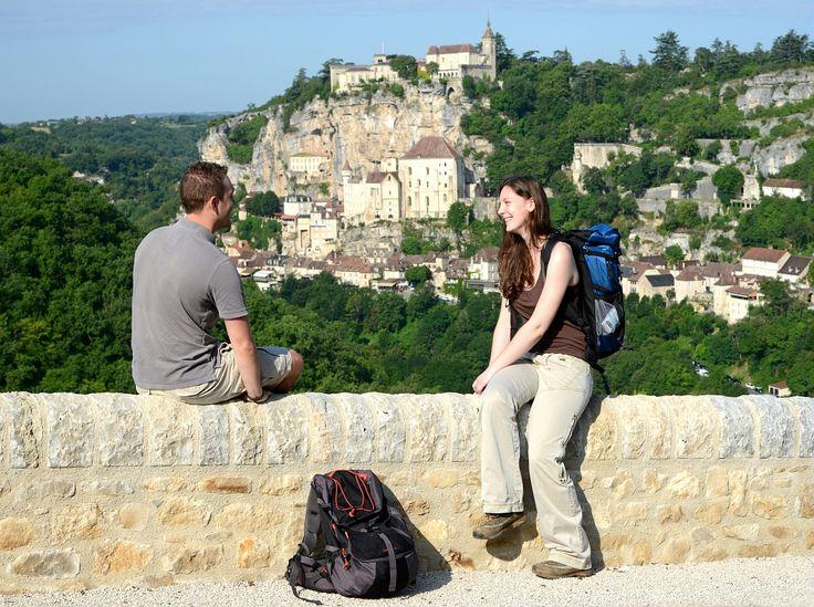 Rocamadour (Lot) - Par CRT Midi-Pyrénées / Patrice THEBAULT  #TourismeMidiPy #MidiPyrenees #France #Randonnée #Walking #trekking #hiking #esprit_lot