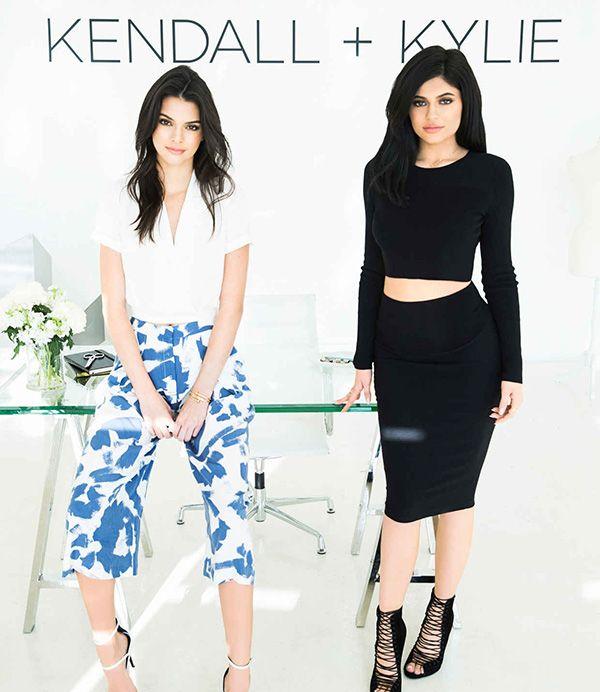 Kendall e Kylie Jenner lançam coleção de roupas e sapatos - e tem vários itens…