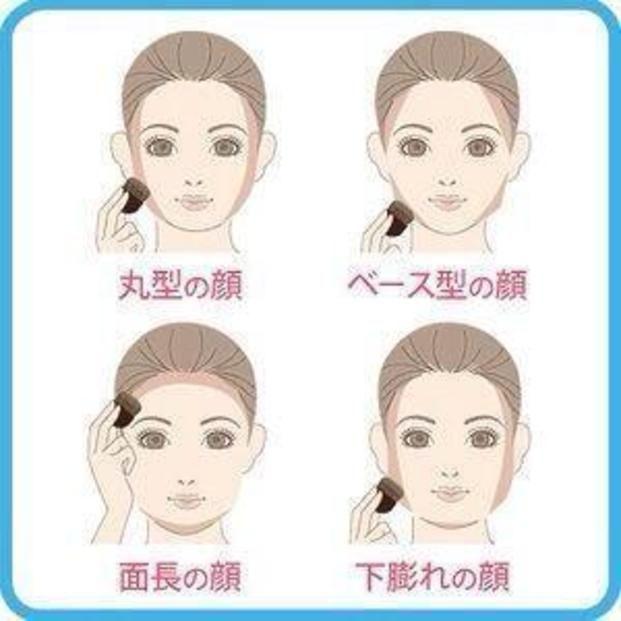 顔の形によってハイライト&シェーディングの入れ方が異なるので、自分の顔の形にあった方法で小顔を手に入れちゃいましょう♡