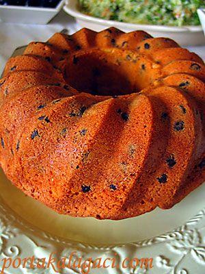 portakal ağacı: hindistan cevizli & damla çikolatalı kek