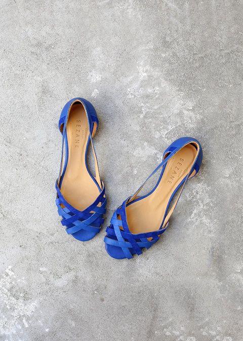 Sézane again... Version blue et plates!