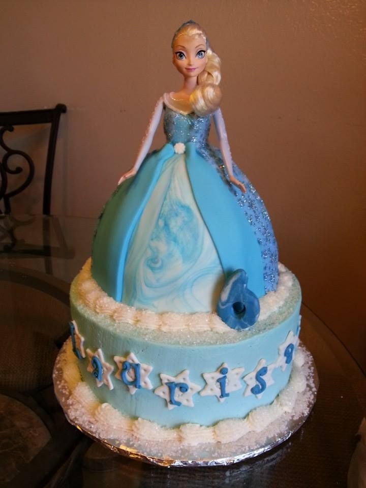 Princess Elsa Cake Images : 77 best images about Disney Frozen Cakes on Pinterest ...