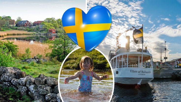 Semester i Sverige: 12 öar du måste se | Allt om Resor