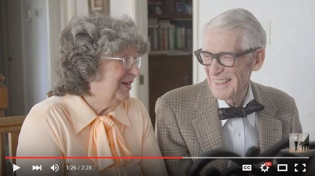 "Adorable couple recreates the movie ""Up"" for their anniversary. #TrueLove #Inspiration #Aging"