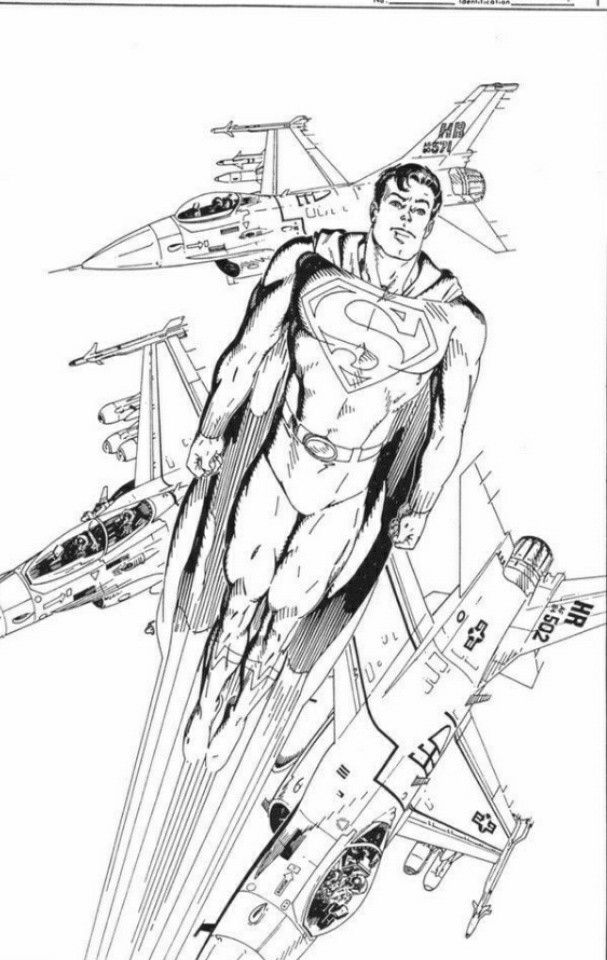 Pin By Brad Gosselin On Adult Super Hero Coloring Pages -8961