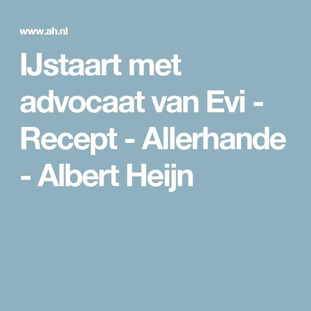 IJstaart met advocaat van Evi - Recept - Allerhande - Albert Heijn