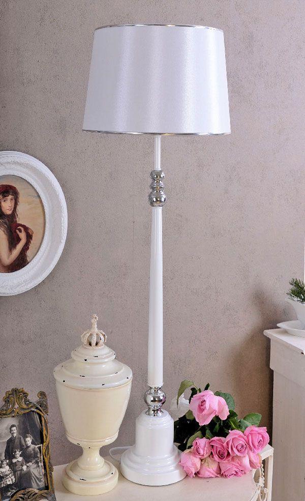 Stojąca wysoka lampa w stylu art deco / Standing lamp in Art Deco style