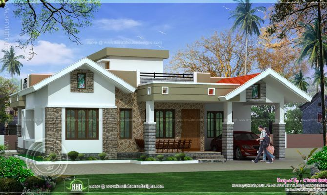 Lynchforva Com Browse Photos Of One Floor Kerala Style Home Design With Resolution 1600x910 Modern Small House Design House Outer Design Kerala House Design