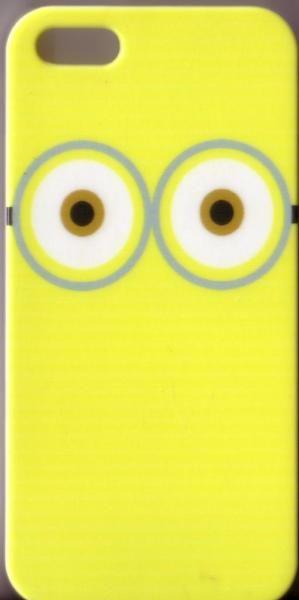 """Biete hier eine Apple iPhone 5 / 5S Schutzhülle / Hard Case """"Weisse Augen auf gelben Grund"""" Figur aus """"Ich, einfach unverbesserlich"""" an. Technische Daten Kompabilität iPhone 5S, iPhone 5 Eigenschaften Rückseiten Cover Material Kunststoff Stil Grafik Farbe Mehrfarbig Maße (cm) 12.5 X 6 X 0.8 Gewicht (kg) 0.01 Versand (1,00 €) und Paypal oder Überweisung möglich"""