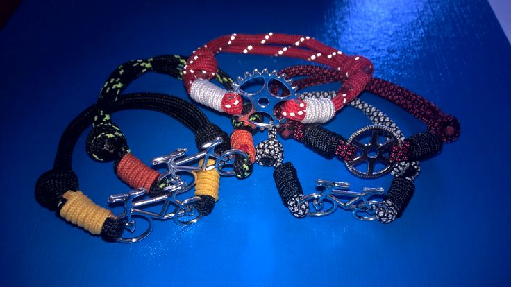 Bicycle craze ; paracord bracelet
