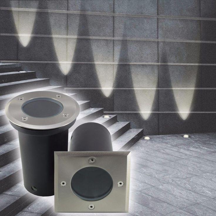 MAXKOMFORT® Bodeneinbaustrahler Einbauspot Bodenleuchte Bodenstrahler LED 820 in Heimwerker, Lampen & Licht, Einbauleuchten | eBay!