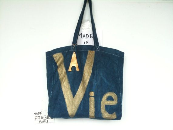 Vie Large Shoulder Bag / My Little French by MyLittleFrenchShop, $89.00