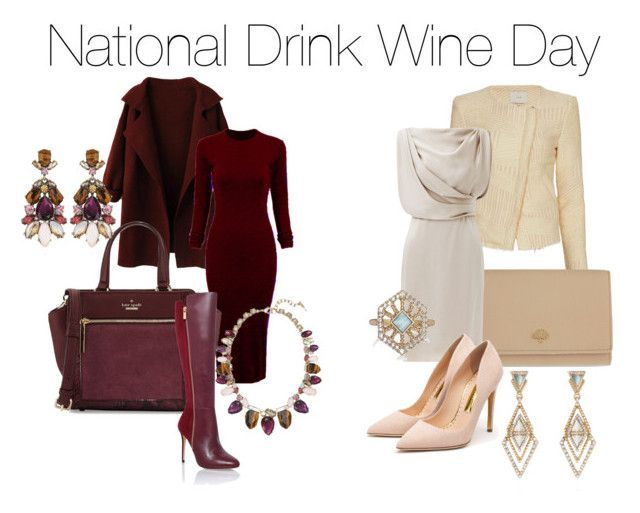 """National Wine Day   National Drink Wine Day"""" by snrcarter on Polyvore featuring WithChic ..."""