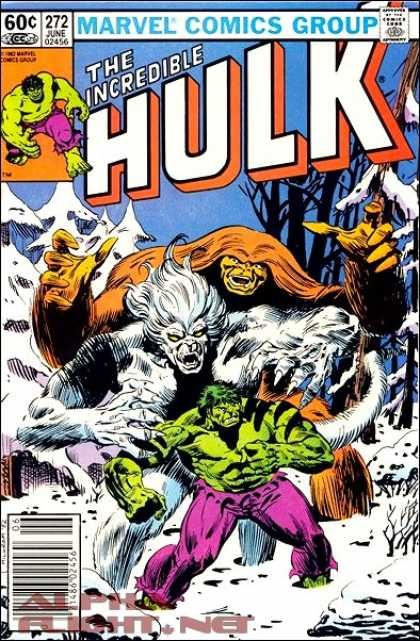 The Incredible Hulk 272 Marvel comics group