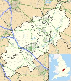 Desborough is located in Northamptonshire