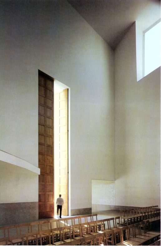 Church in Marco de Canaveses, Portugal, Alvaro Siza, 1996