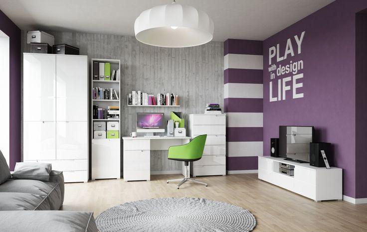 Selene to ponadczasowe rozwiązanie dla osób ceniących elegancję, nowoczesny styl i przestronność #meble #furniture #szynakameble #inspiracja #inspiration
