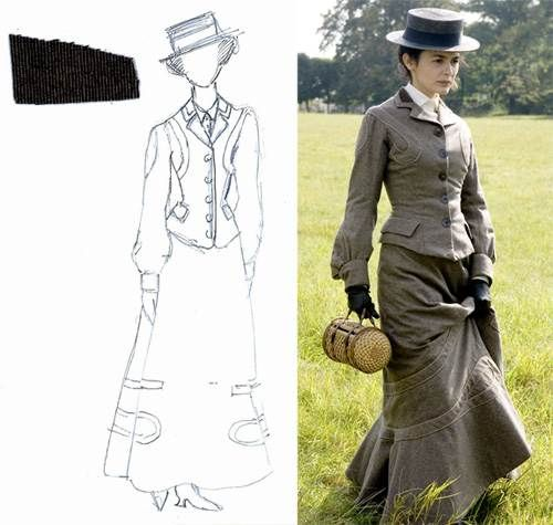 82nd Academy Awards - Nominated for Best Costume Design - Catherine Leterrier - Coco Avant Chanel. For a scene involving a trip to a horse race, Leterrier designed a replica of a suit she saw Chanel wearing in a picture. 'Chanel didn't want to copy, she wanted to be copied,' said the designer. 'She imagined herself as someone to be admired.'