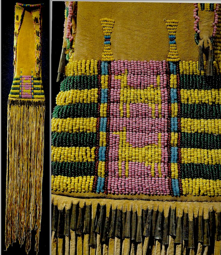 Cheyenne pipebag. Hirschfield Coll.  ac