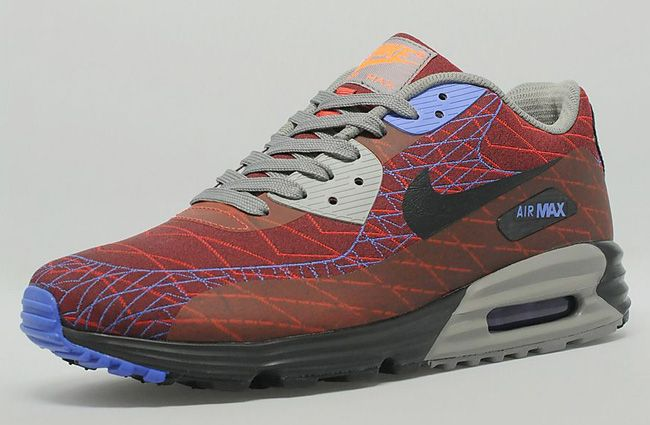 "Nike Air Max Lunar 90 Jacquard ""Red & Purple"""