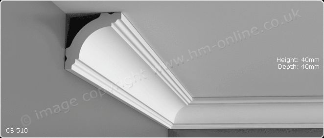 CB510 Orac Decor Polystyrene Coving Cornice in Home, Furniture & DIY, DIY Materials, Other DIY Materials | eBay