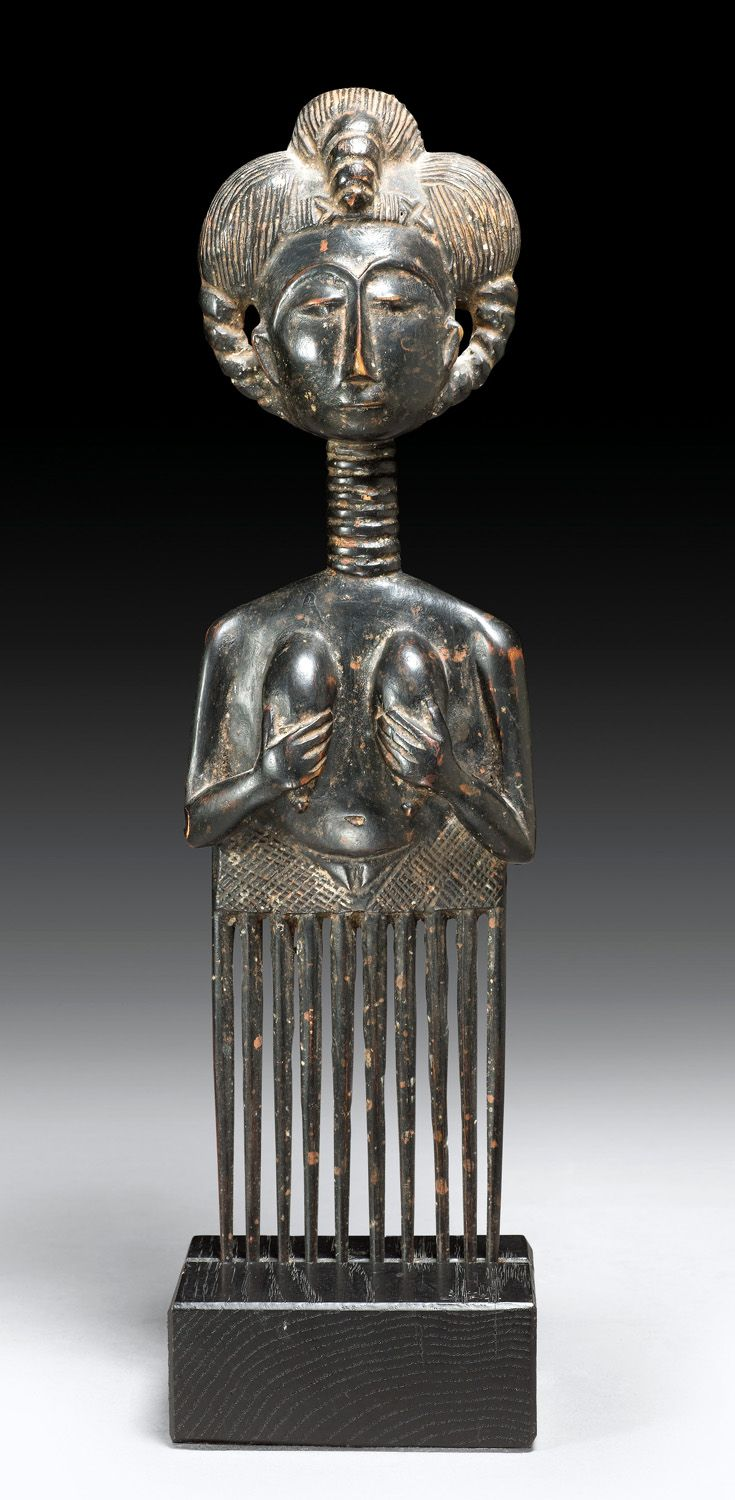 Africa   Comb from the Asante people of Ghana   Wood