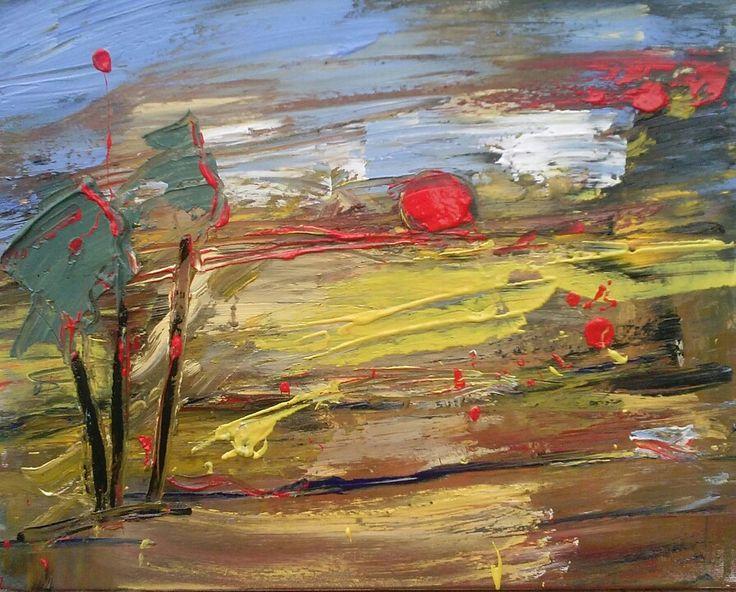 Oil on canvas 40/50 cm