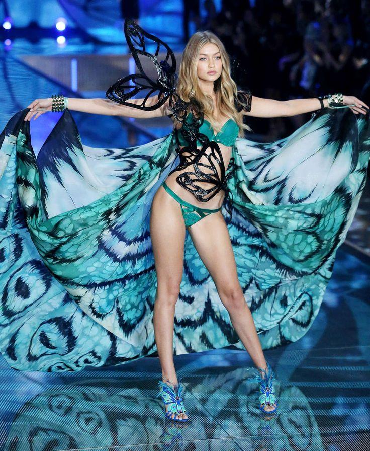 Gigi Hadid – 2015 Victoria's Secret Fashion Show in NYC