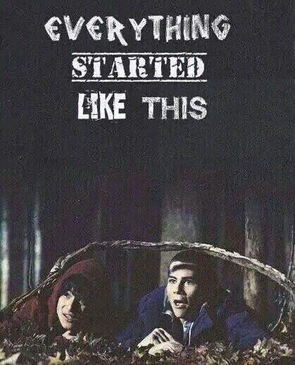 Tudo começou assim.