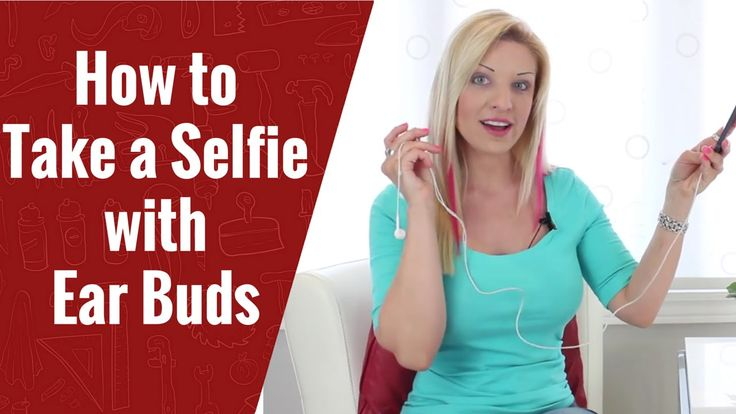 How to Take a  Selfie with Earbuds|  iPhone Hacks