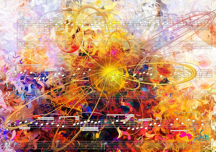 Fractal on the music 2