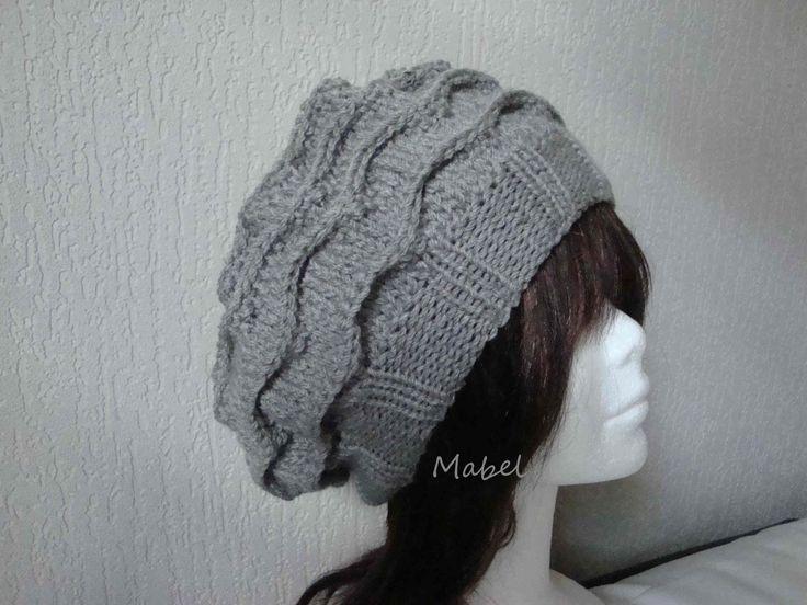 modèle tricot bonnet beret