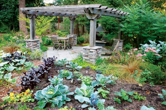Apply permaculture to your land to nurture its natural features.