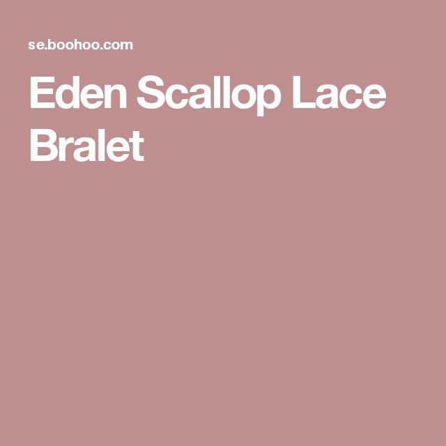 Eden Scallop Lace Bralet