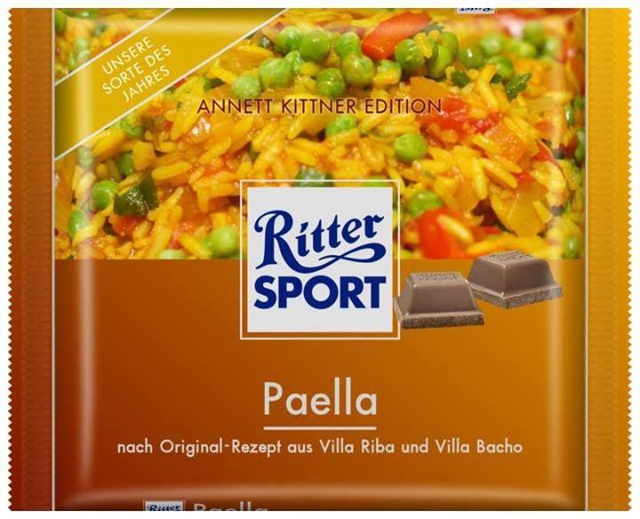 RITTER SPORT Fake Schokolade Paella