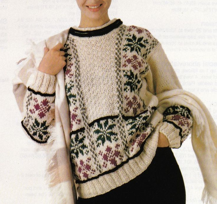 30 best Christmas Jumper Knitting Patterns images on Pinterest ...