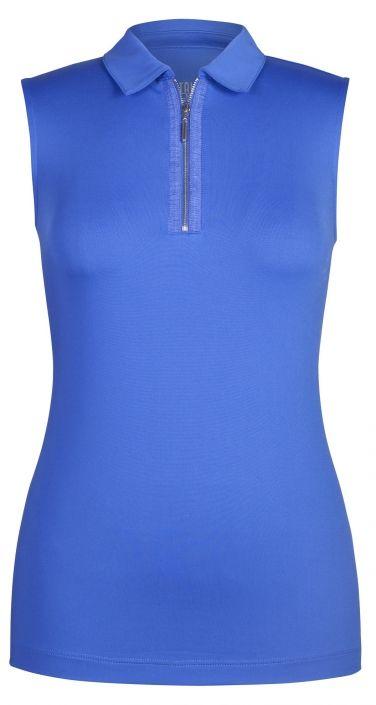 Saint tropez tail french riviera tala sleeveless golf top for Plus size sleeveless golf shirts
