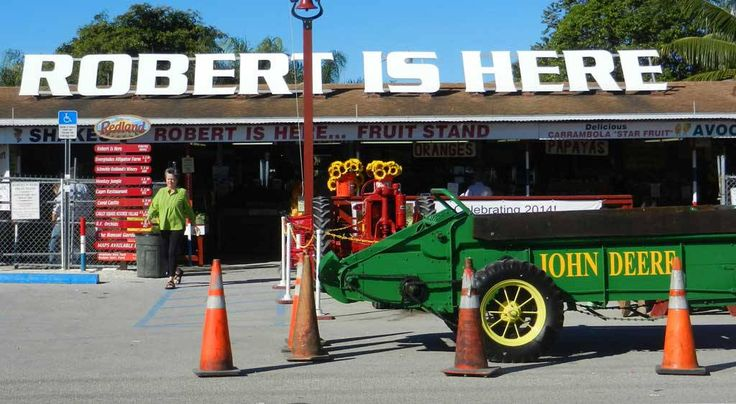 Robert is Here Fruit Stand. Homestead, Florida.