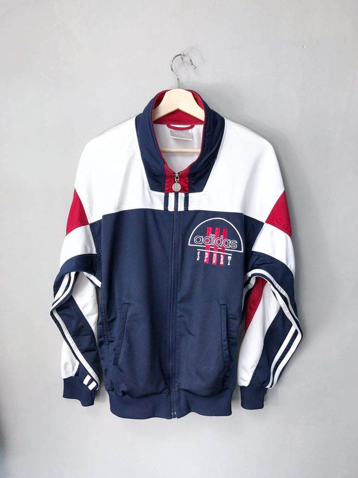 <strong> ADIDAS </strong>• Vintage Trainingsjacke • S / M