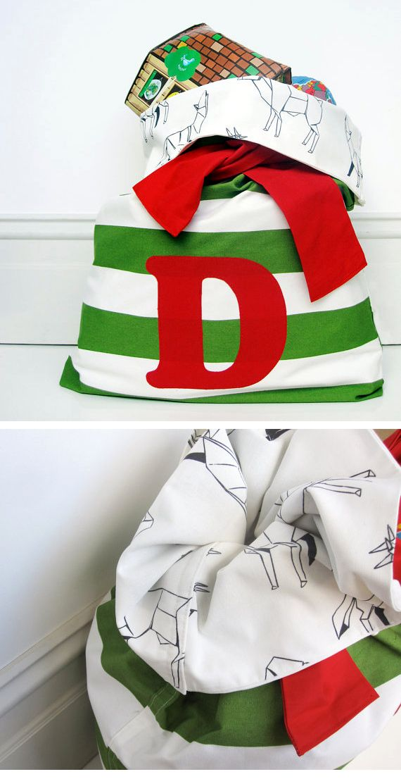 mini envy santa sacks... I got them