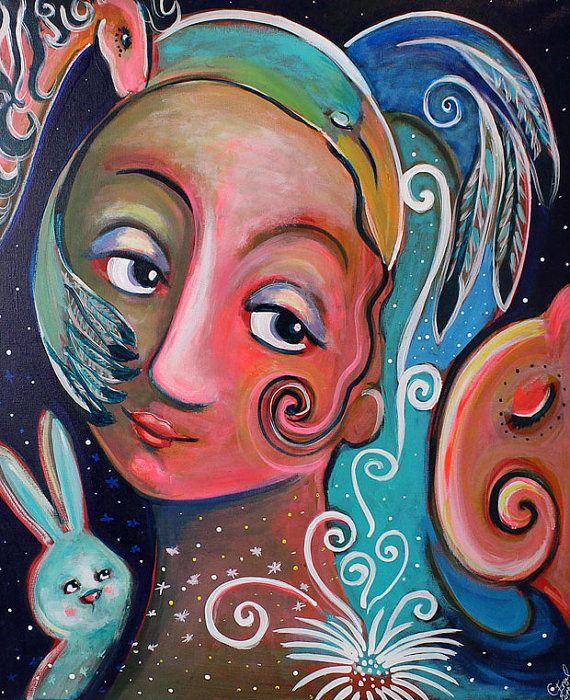 "Art print: ""Embrace all that you are"", Charlotte Engel Studio"