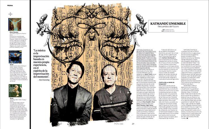 Música: Katmandú Ensamble   #KatmanduEnsamble #Magazine #EditorialDesign #Editorial #Faith #Fe #ArtDirection #Marvin #RevistaMarvin
