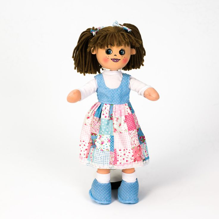 Personalised Rag Doll Ella Rose just €18 on our Deal of the Day! https://www.wowwee.ie/Personalised-Rag-Doll-Patchwork-Cutie-p/dolly-doo-patchwork.htm